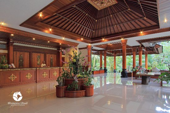 Bhuwana Ubud Hotel: Nice Lobby View