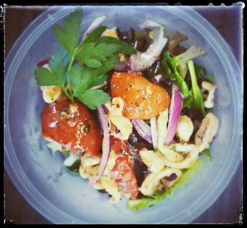 Le Rout'Art Gourmand: Salade de Calamars.