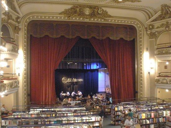 El Ateneo Grand Splendid: Linda!