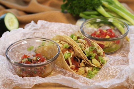 Mandala Restaurante: Nuestros tacos vegetarianos