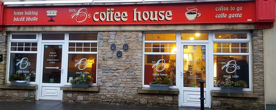 Mrs B's Coffee House: Mrs B's, come on in!