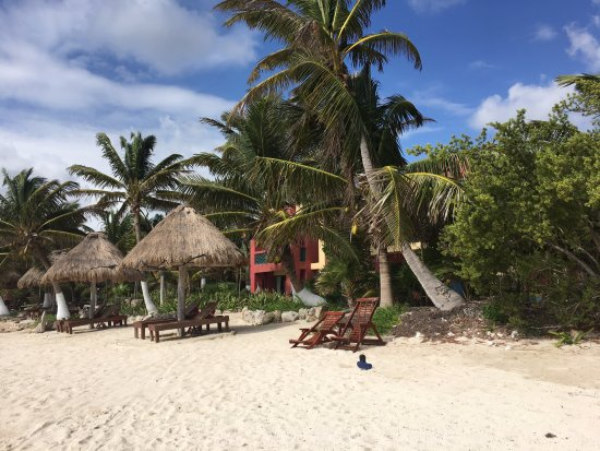 Sin Duda Villas: view from the beach