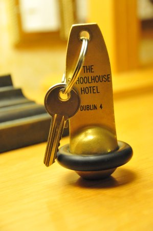 Schoolhouse Hotel: room key