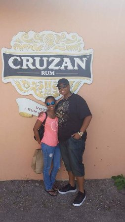 Cruzan Rum Distillery : This was the reason she chose to visit St. Croix