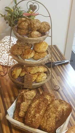 Mrs B's Coffee House: Scones & brown bread made daily !!