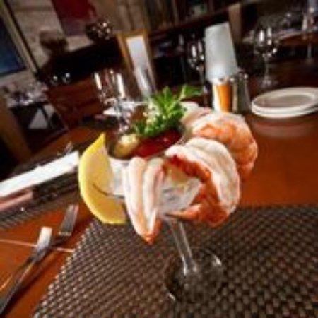 Judson's Steakhouse: Wild caught U-8 gulf shrimp