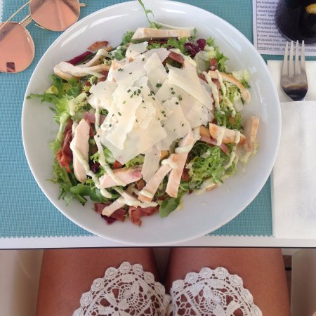 Hotel Astoria Playa Only Adults: light lunches by the pool! amazing quality