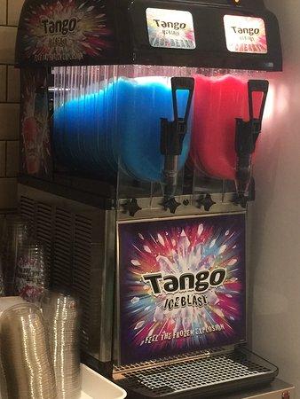 Oliver's Fish & Chips: TANGO ICE BLASTS MACHINE