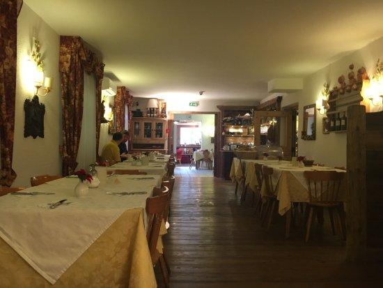 Chalet Fiocco di Neve: Sala ristorante colazione