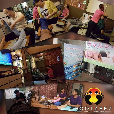 Footzee'z Spa of Boracay: Footzee'z therapists are brought to other countries for training