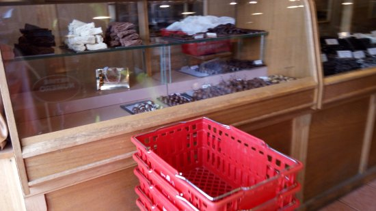 Laguna Negra Chocolates: mostrador