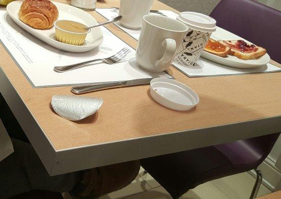 Hotel Gutenberg: Buffet petit déjeuner