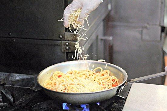 Leone's Italian: Cookin in the kitchen