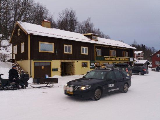 Undersaker, Szwecja: de plaatselijk ski verhuur en Sport shop.