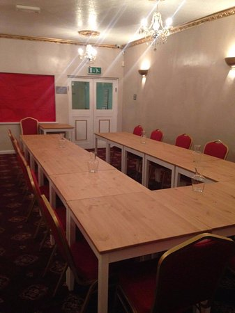 The Little Acorn: Set up for meetings