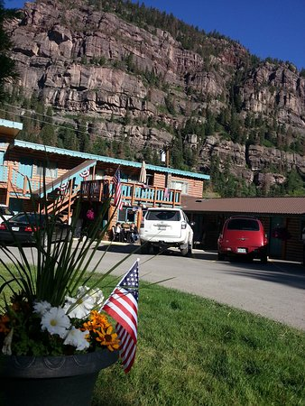 Ouray Inn: 4th of July views