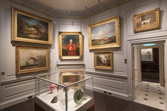 Fred Packard Galleries in Palace House - the new home to the British Sporting Art Trust