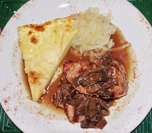 La Merced del Alto Restaurant: Hauptgang