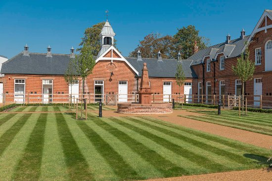 Newmarket, UK: The Rothschild Yard - the flagship yard for Retraining of Racehorses charity