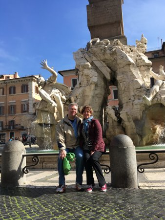 Real Rome Tours: Four Rivers Fountain