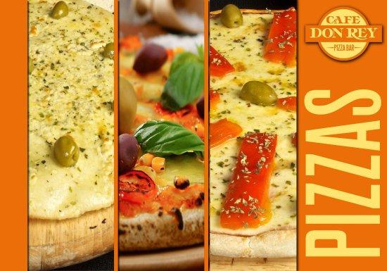 Cafe Don Rey: Pizzas