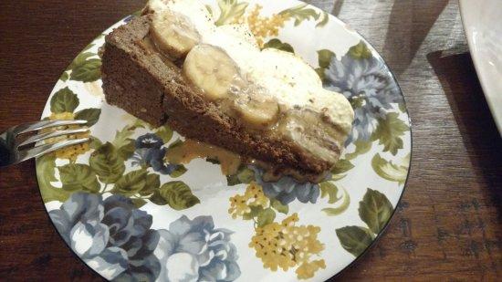 Frederica's Koffiehuis: Banoffi pie (banana and cream)
