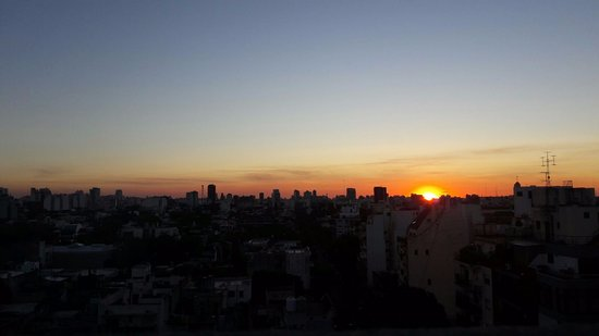 Own Grand Palermo Soho: Sunset from the terrace