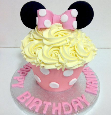 Hey Little Cupcake!: The Minnie Mouse Giant Cuocake
