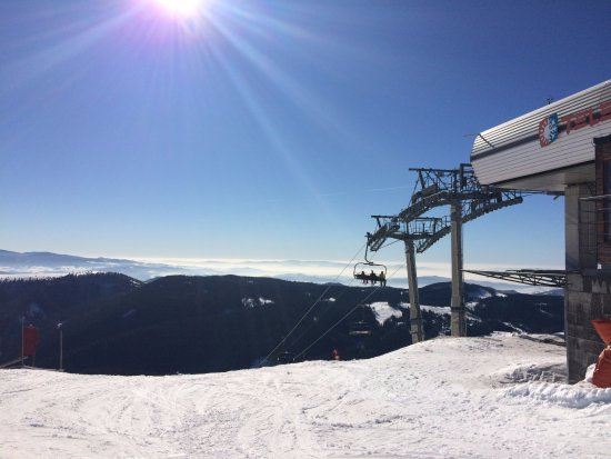 PARK SNOW Donovaly: Horná stanica lanovky Telemix