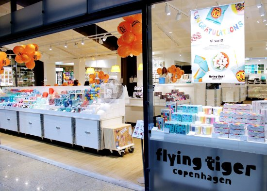 Xhibition Shopping Center: Flying Tiger