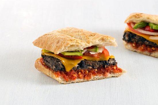 Alumni Grill: Mathlete (Black bean panini)