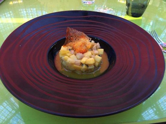 Brasserie Printemps: Soupe de fruits