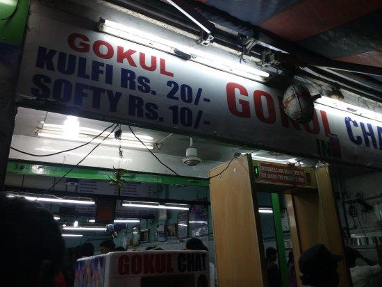 Gokul Chat Bhandar: kulfi at only 20 bucks