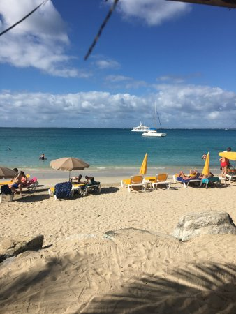 Kali's Beach bar: View as we ate lunch at Kali's New Year's Day 2017