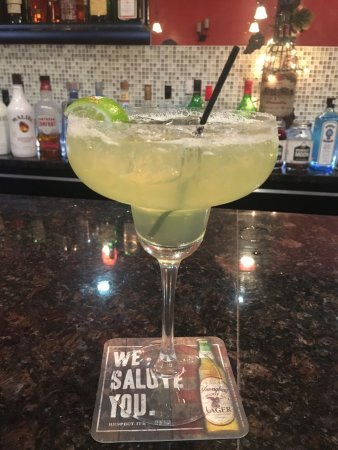 Vineland, NJ: Margarita on the rocks!
