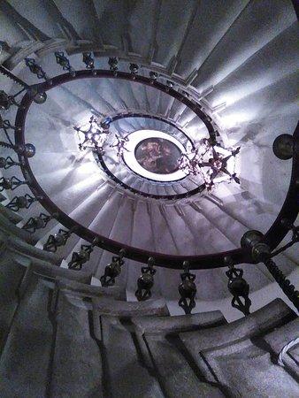 Castello di Duino: scala palladiana