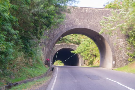 Cosol Tours: Climbing out of Castries