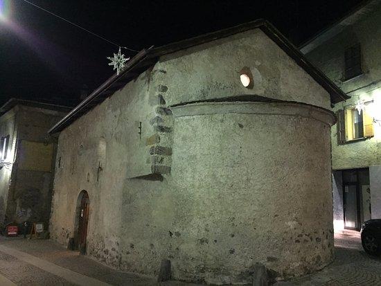 Chiesa di Santo Spirito: panoramica notturna