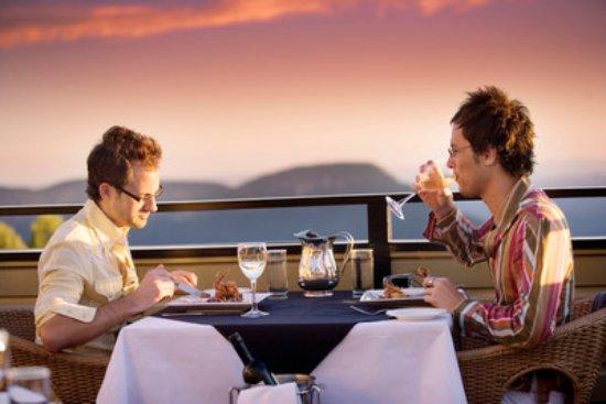 Echoes Restaurant - Blue Mountains: Sunset