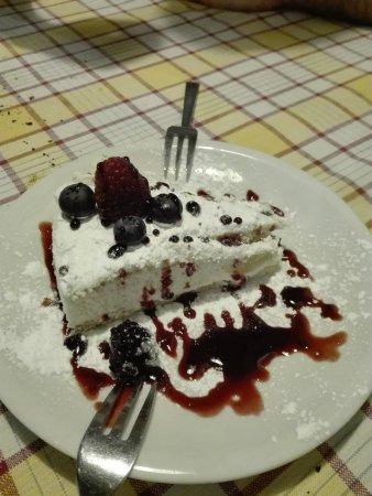 Trattoria il Tettarello: torta ottima