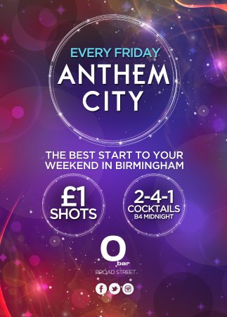 O Bar: Anthem City