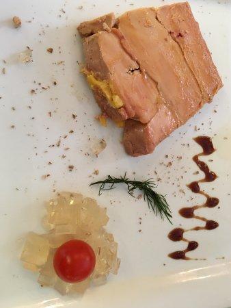 Le Relais d'Anjou: Foie gras de canard frais maison