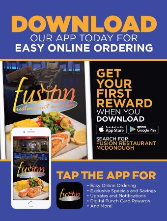 McDonough, GA: Download Our New App and Get 1 Free Appetizer or Dessert (maximum value of $8)