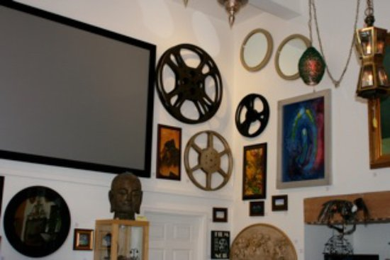 Prescott, AZ: Our in-house movie corner for special events and occasions, early 2017.