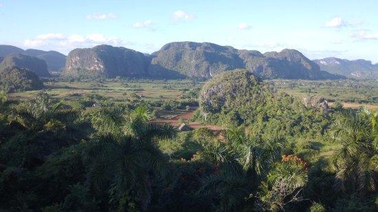 Valle de Vinales: vista panoramica