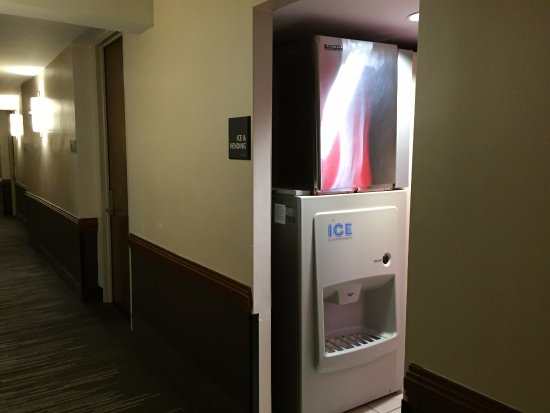 Hampton Inn Manhattan-Times Square North: Máquina de gelo