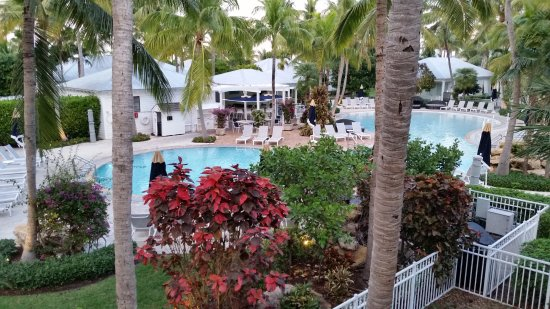 """Sunset Key Cottages: View from our """"Garden View"""" suite"""