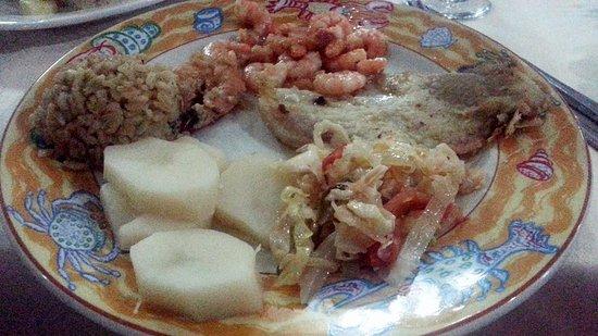 Club Amigo Ancon: ア・ラ・カルトレストランでの夕食。全部美味しかった。