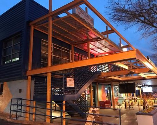 Decatur, GA: The exterior of the shop