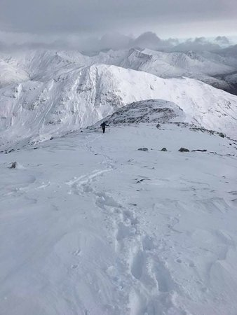 Kinlochleven, UK: The descent of Meall Dearg